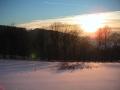 Pastvina nad silnicé ze Sklenařic do Olešnice, 24.ledna 2004