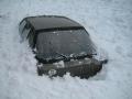 Zapadaný auto u Hvězdy, 28.února 2004