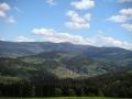 Kotel a Lysá hora od horní stanice Vysockého vleku, 29.května 2004