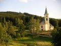 Albrechtice v Jizerských horách, kostel, 6.července 2004