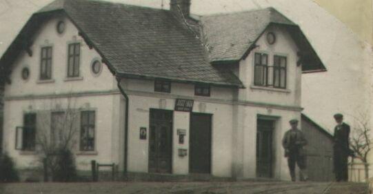 Habovi naproti Mexiku, tehdy se tam říkalo v Terstu, zima 1924 - 1925