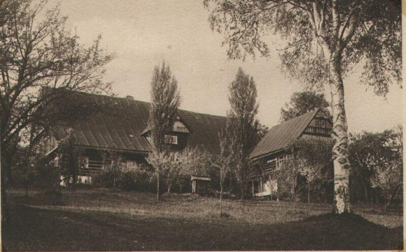 Stará rychta u Tomášů, rok 1924