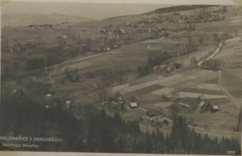 Sklenařice v roce 1922