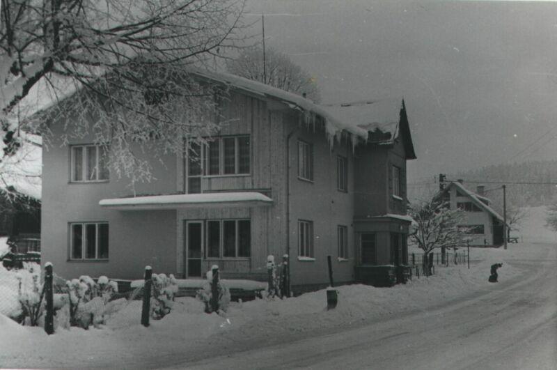 Nový Jork - Terst - Habovi, v pozadí Hamburk na Vánoce roku 1976