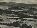 Pohled na Kotel a Lysou horu ze Sklenařic, rok 1930