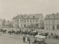 Náměstí ve Vysokém nad Jizerou, dožínkovské slavnosti, 15.září 1929